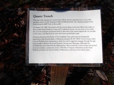 Quarry Trench image. Click for full size.
