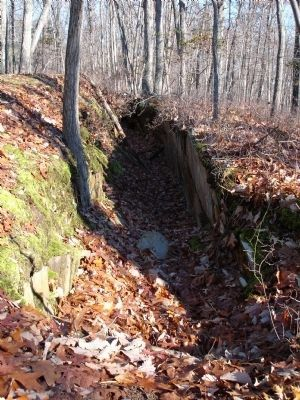 Quarry Trench at Thoroughfare Gap image. Click for full size.