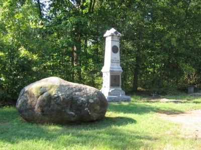 67th New York Infantry Monument image. Click for full size.