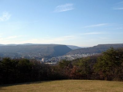View of Cumberland Maryland from Constitution Park Photo, Click for full size
