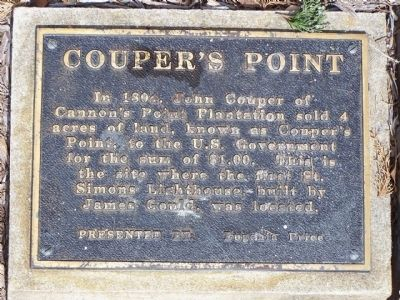 Couper's Point Marker image. Click for full size.