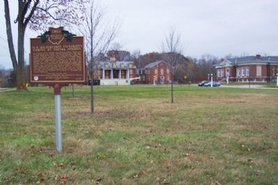 Old Wilberforce University Campus at Tawawa Springs Marker Photo, Click for full size
