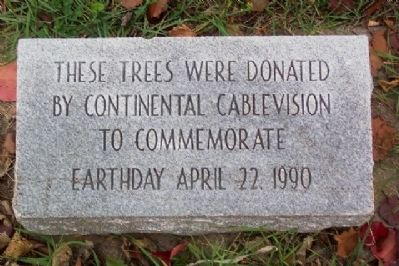 Earth Day 1990 Marker Photo, Click for full size
