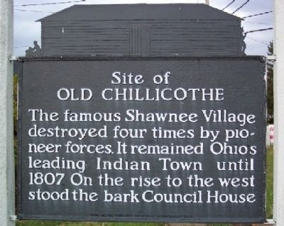Site of Old Chillicothe Marker image. Click for full size.