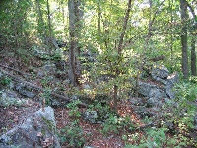 Rocky Outcroppings on Culp's Hill image. Click for full size.