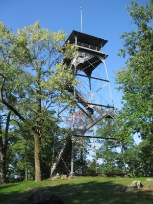 Observation Tower at Culp's Hill image. Click for full size.