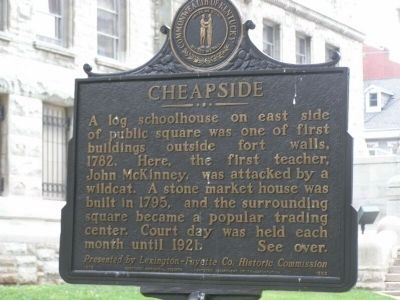 Cheapside Marker image. Click for full size.