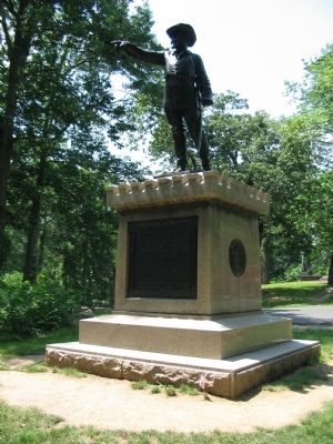 George Sears Greene Monument image. Click for full size.