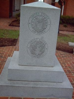 Middlesex County Veteran&#39;s Memorial Marker </b>South face image. Click for full size.