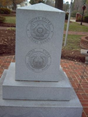 Middlesex County Veteran&#39;s Memorial Marker </b>East face image. Click for full size.