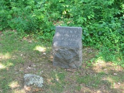 95th New York Infantry Marker image. Click for full size.