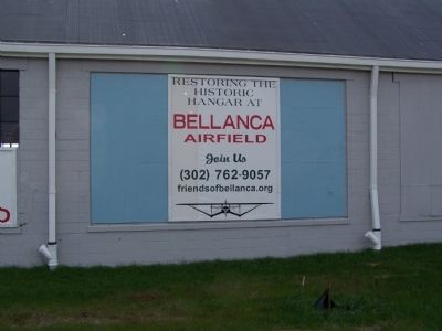 Bellanca Airfield Hangar image. Click for full size.