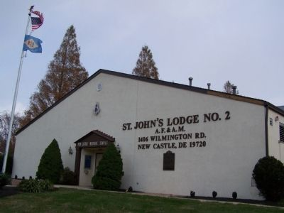 St. John's Lodge no. 2 image. Click for full size.