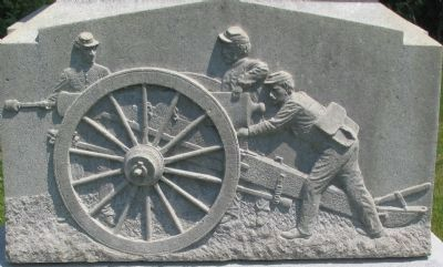 Artwork at the Base of the Monument image. Click for full size.