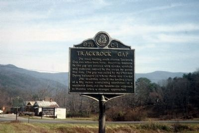 Trackrock Gap Marker image. Click for full size.