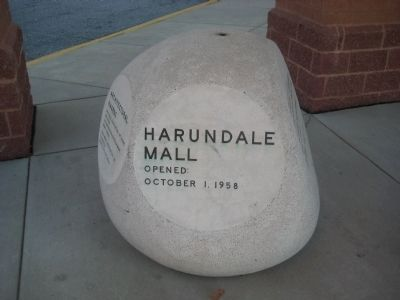 Harundale Mall Marker Photo, Click for full size