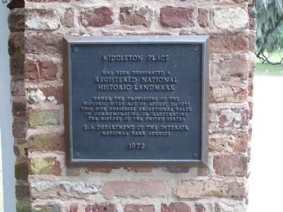It was declared a National Historic Landmark in 1971, Plaque erected in 1972 Photo, Click for full size