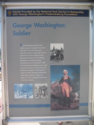 George Washington: Soldier image. Click for full size.