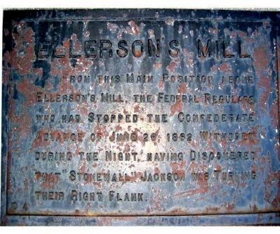 Ellerson's Mill Marker image. Click for full size.