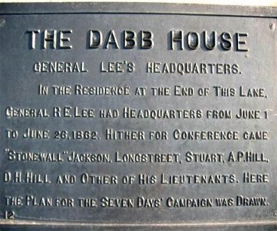 The Dabb House Marker image. Click for full size.