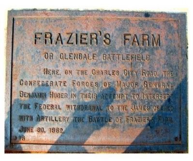 Frazier's Farm Marker Photo, Click for full size