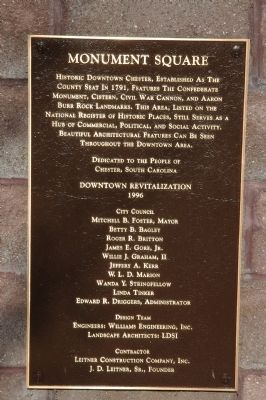 Monument Square Marker Photo, Click for full size