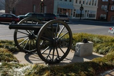 Confederate Cannon Photo, Click for full size