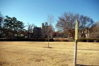 Oglethorpe University Marker and the Oglethorpe University Campus. Photo, Click for full size