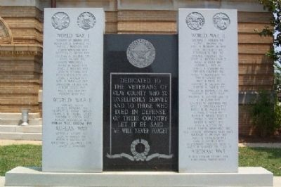 Clay County Veterans Memorial image. Click for full size.