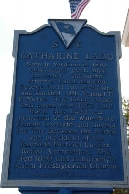 Cathcart-Ketchin House / Catharine Ladd Marker image. Click for full size.