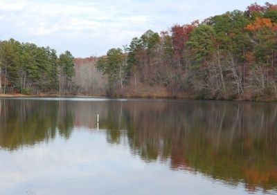 Oconee State Park Lake image. Click for full size.