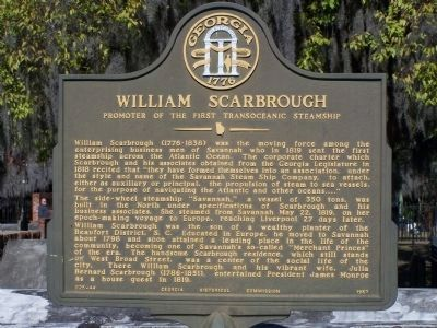 William Scarbrough Marker image. Click for full size.