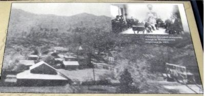 Close-Up of Photo on Marker - Whiskeytown image. Click for full size.