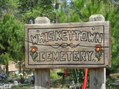 The Relocated Whiskeytown Cemetery image. Click for full size.