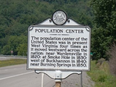 Population Center Marker Photo, Click for full size