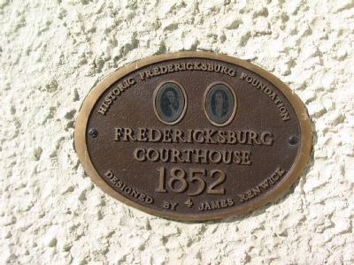 Historic Fredericksburg Foundation Plaque image. Click for full size.