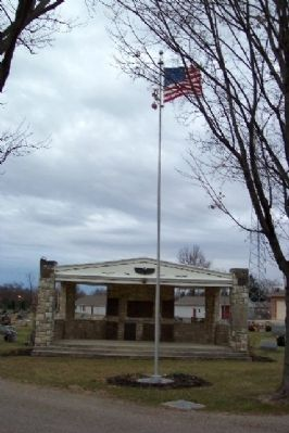 Mifflin Township Veterans Memorial image. Click for full size.