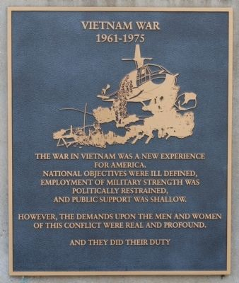 Vietnam War: 1961-1975 image. Click for full size.