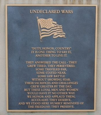 Undeclared Wars Photo, Click for full size