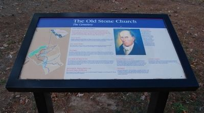 The Old Stone Church Marker Photo, Click for full size