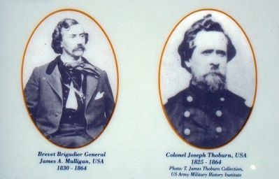 Closeup of Photos on Marker (Bottom Left) image. Click for full size.