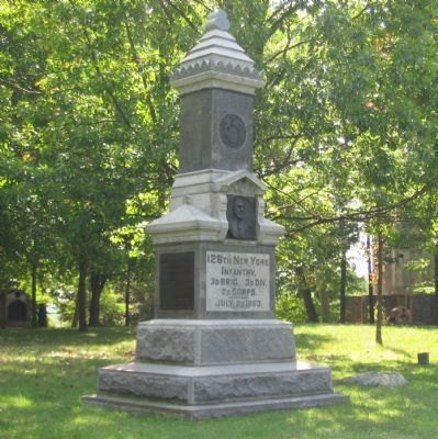 126th New York Infantry Monument image. Click for full size.
