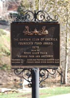 Garden Club of America Founder's Fund Award image. Click for full size.