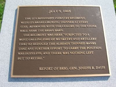 Plaque on Top of Marker Photo, Click for full size