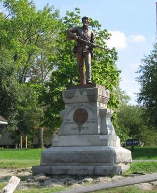 111th New York Infantry Monument image. Click for full size.