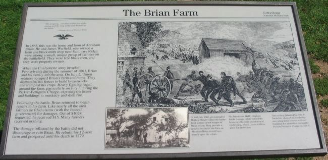 The Brian Farm Marker image. Click for full size.