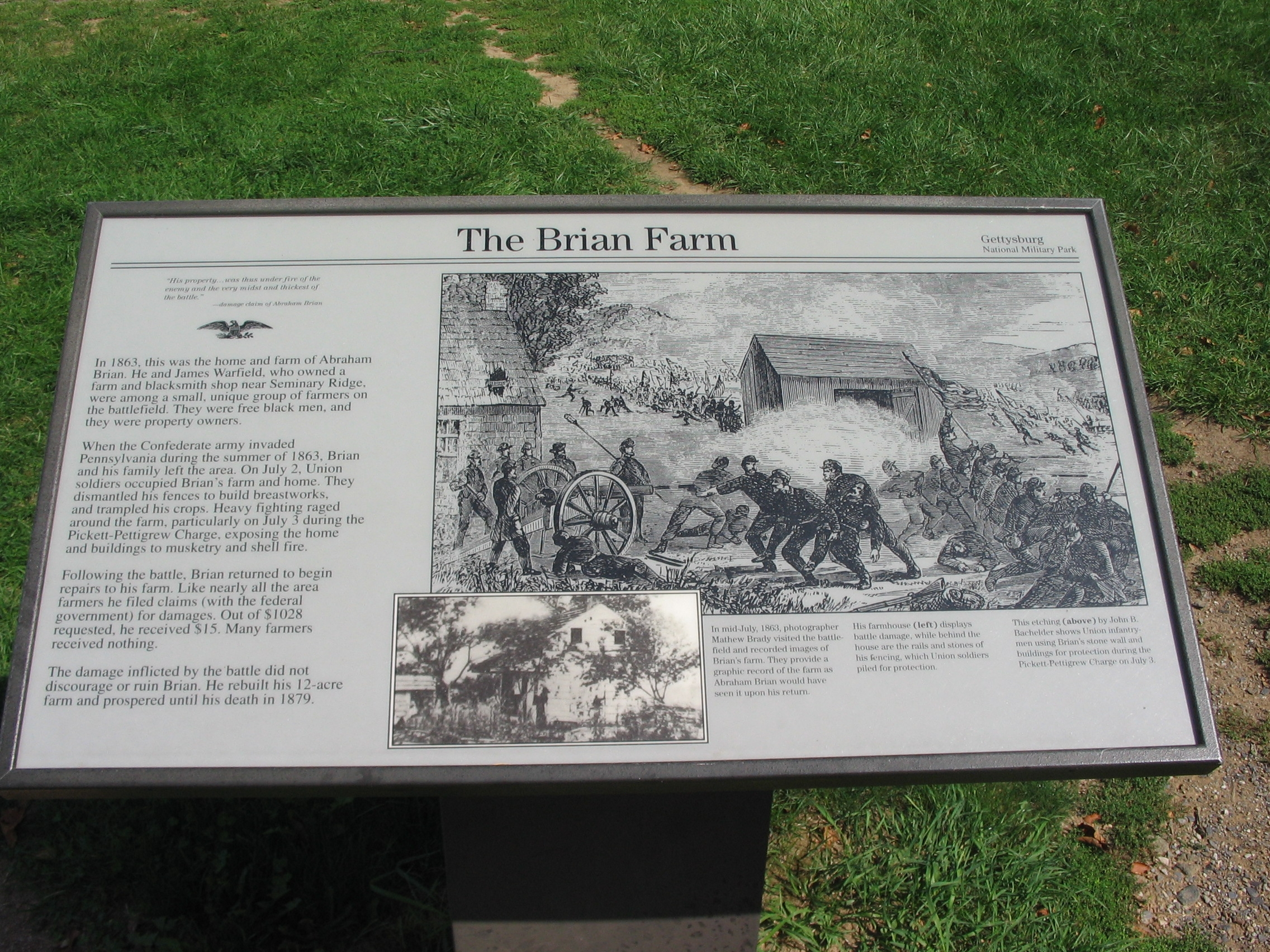 The Brian Farm Marker