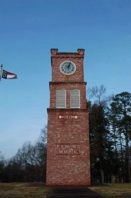 R.R. Haynes Memorial Tower image. Click for full size.