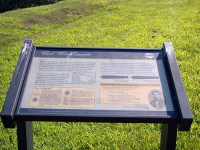 Civil War Cannons Marker Photo, Click for full size
