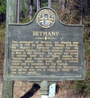 Bethany Marker image. Click for full size.